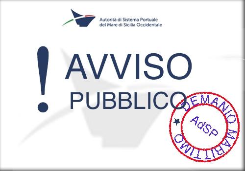 Avviso III° seduta di gara. Porto di Palermo - Molo Nord. Procedura negoziata finalizzata al rilascio di concessione demaniale marittima di area di banchina (mq 420,00) e di specchio acqueo (mq 1.500,00) per la durata di 4 anni.