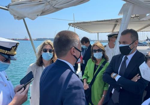 La IX Commissione Trasporti al porto di Palermo