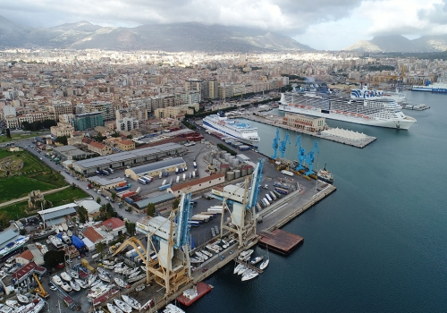 PORTS OF PALERMO -  CRUISE AREA
