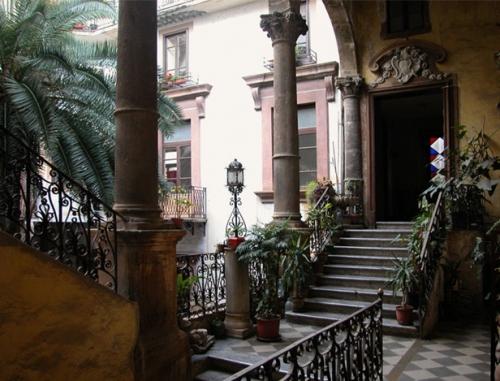 Interno Palazzo di Via Vittorio Emanuele