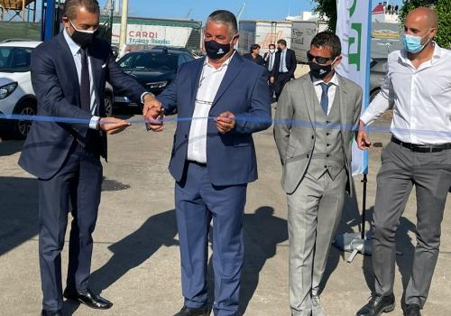 """""""La differenziata: un porto sicuro"""": inaugurato il deposito in porto"""