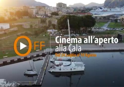 Cinema all'aperto alla Cala